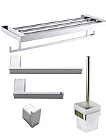 Anti Rust 304 Stainless Steel Bathroom Accessory Set , Contemporary Stainless Steel Wall Mounted