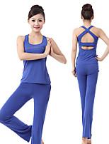 Yoga Sets de Prendas/Trajes Pantalones + Tops Capilaridad / Materiales Ligeros / Suave Eslático Ropa deportiva Mujer - OtrosYoga /