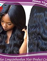 Three Bundles  100%Remy Virgin Briazilian  HumanWholesale 6A Loose Wave Natural Color Hair Weft