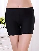 Women's Sexy Ice Silk Seamless Boy shorts & Briefs / Shaping Panties
