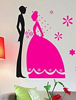 Romance / Fashion Wall Stickers Plane Wall Stickers , PVC 81cm*74cm