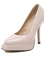 Women's Shoes Stiletto Heel Heels Heels Casual Black / White / Beige