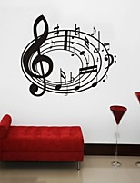 Music / Still Life / Fashion Wall Stickers Plane Wall Stickers , PVC 66cm*57cm