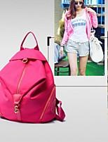 Canvas Shopper Shoulder Bag - Pink / Purple / Blue / Red / Black