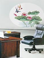 Botanical / Fashion Wall Stickers Plane Wall Stickers , PVC 50cm*66cm