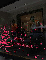 Christmas  Window Sticker Contemporary , Art Deco 80m*60cm