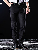 Autumn/man/business/dress/leisure/pants/spandex fabric/han edition cultivate one's morality men's trousers