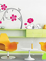 Botanical / Cartoon / Fashion Wall Stickers Plane Wall Stickers , PVC 50cm*70cm