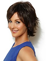 Naturl Color Short Syntheic  Wig Extensions  Women's Favourite