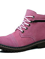 Women's Shoes Suede Flat HeelCowboy / Western Boots / Riding Boots / Fashion Boots / Motorcycle Boots / Work &