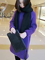 Damen Pullover  -  Leger Acryl Medium Langarm