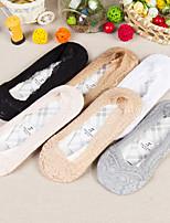 Women  Lace  Socks  6 Pairs  Of  A Box