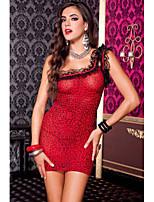Women's Leopard off Shoulder Lace Mini Dress