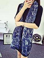 Women Cotton Scarf , Vintage / Casual