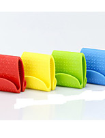 Anti-Hot Bowl Clip Skid Random Color TPE