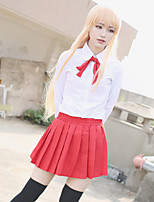 Himouto Umaru-Chan School Uniform Blouse / Skirt / Tie Cosplay Costumes