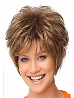 Fashion Brown  Color Short Woman's Synthetic Wigs Hair