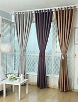 One Panel Grey / Purple / Earth Solid Linen Panel
