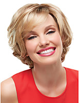 Woman's Vogue Blonde Curly Short Synthetic Wigs