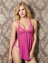 Women Lace Lingerie / Robes / Satin & Silk / Ultra Sexy Nightwear , Chiffon / Lace