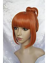 Lanting cos mineko geen naku koro ushiromiya eva korte rode cosplay pruik partij anime hair