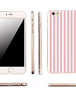 iPhone 7 Plus Slim Vertical Stripes TPU Material Phone Case for iPhone 6/6S