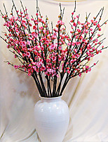 Wintersweet Bud in Silk Cloth Artificial Flower for Home Decoration(5Piece)