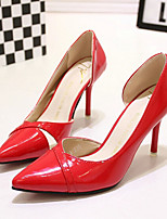 Women's Shoes Patent Leather Stiletto Heel Pointed Toe Heels Wedding / Party & Evening