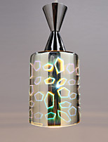 Dream laser Engraving Chrome Plated pendant lamp