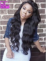 2015 New Arrival Body Wave 10-26inch Brazilian Human Hair Natural Black Full Lace Wig