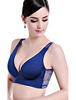 Triangle Cup Bras , Push-up Cotton