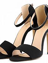 Women's Shoes Fabric Stiletto Heel Heels Sandals Party & Evening / Blue / Yellow / Green / Pink / White / Orange /