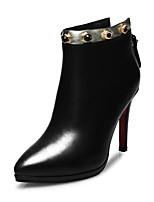 Zapatos de mujer - Tacón Stiletto - Botas Anfibias / Botines / Puntiagudos / Botas a la Moda - Botas - Boda / Oficina y Trabajo / Casual -