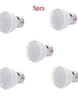 5pcs HRY® 2W E27 38LED 100LM 28Red+10Blue Plant Grow Light Bulb Garden Hydroponic Lamp(AC220V)