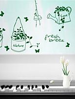 Botanical / Fashion Wall Stickers Plane Wall Stickers , PVC 60m*35cm