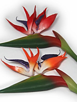 European Bird Of Paradise Plastic Plants Artificial Flowers