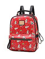 Women PU Weekend Bag Backpack / Travel Bag - Beige / Blue / Red / Khaki
