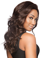 Dark Brown  Loose Wave Wig Top Quality Europe And America  Syntheic  Wigs