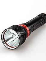 LT  3 Mode 2200 Lumens LED Flashlights 18650/26650 Waterproof