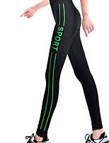 Yoga Tights Waterproof / Quick Dry / Held-In Sensation / Wicking / Compression High Elasticity Sports WearYoga