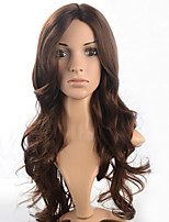 2015 Women Ombre Fashion Natural Wavy Japanese Heat Resistant Synthetic Hair Wig M16541MF-#2612 24
