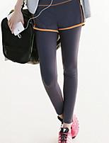 Outros ® Ioga calças justas Respirável / Secagem Rápida / wicking / Compressão Elasticidade Alta Wear Sports Ioga Mulheres
