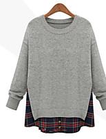 Damen Pullover  -  Leger Strickware Medium Langarm