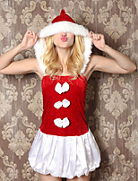 Women Christmas Sexy Lingerie Uniforms & Cheongsams / Chemises & Gowns / Ultra Sexy Nightwear