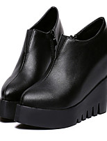 Women's Shoes  Platform Pointed Toe Boots Casual Black