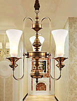 Pendant Lights Crystal / Mini Style Traditional/Classic Bedroom / Dining Room / Kitchen / Study Room/Office Metal