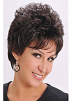 Europe and The United States High Quality Fashion High Quality High Temperature Synthetic Hair Short Hair Wig