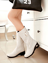 Women's Shoes  Low Heel Round Toe Mid-Calf  Boots More colors available