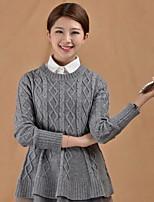 Retro Women`s Soild Handwork Imitation-pearl Button Fabric Cotton Collar Decoration Cravat&Ascot Joker Daily/Casual
