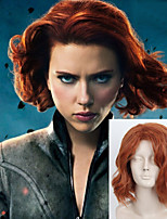 The X-Men Black Widow Natasha Cos Wig Europe And The United States Cos Halloween Wig Spot